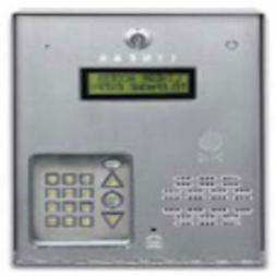 Linear Commercial Telephone Entry System, One Door