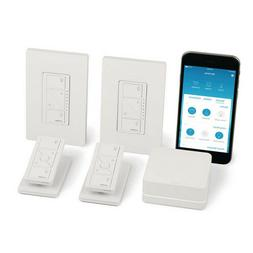 Lutron - Caseta Wireless Smart Lighting Kit - White