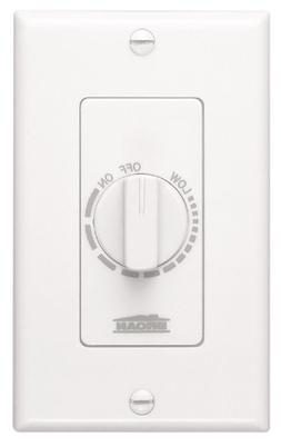 NuTone 57W Variable Speed Wall Control for Ventilation Fans,