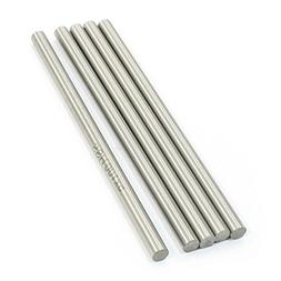 RC Helicopter 100mm x 5mm HSS Ground Shaft Round Rod 5Pcs