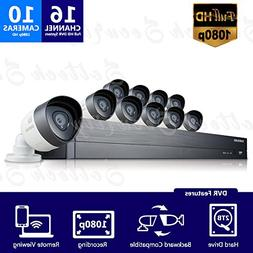 Samsung SDH-C75100BN 16 Channel 1080p Full HD DVR Video Secu