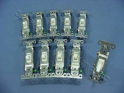 White Grounded Toggle Switch Cooper Wiring 3-Way Switches 13