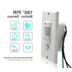 White Motion Sensor Light Switch Neutral Wire Required Vacan