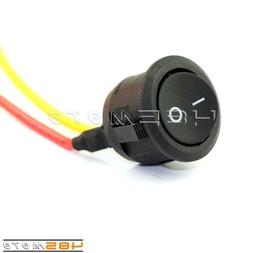 AC 250V 3A On-Off Light Electric Equipment Switch Button For
