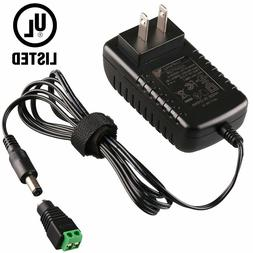 AC to DC 12V Power Supply Adapter Connector Switch Charger C