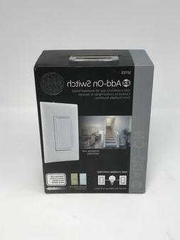 GE AddOn Switch for GE ZWave/ZigBee/Bluetooth Wireless Smart
