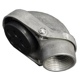 Aluminum Service Entrance Head - Conduit Mount Threaded 1""
