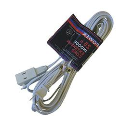 American Power 25 FT. 16/2 Indoor Extension Cord, White , EC