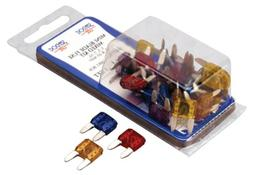 Sea Dog ATM Mini Blade Styled Mixed Fuse Kit, Contains 5 eac