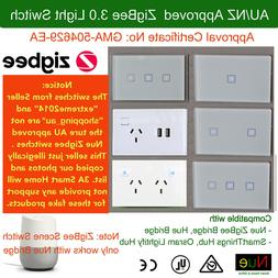 AU Approved Smart ZigBee Light Switch or Dimmer Power Point