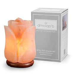 d'aplomb 100% Authentic Natural Himalayan Salt Lamp; Hand Ca