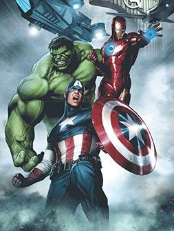 Edge Home Products Avengers Canvas with LED Lights, 12 by 16