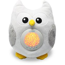 Bubzi Co White Noise Sound Machine & Sleep Aid Night Light.