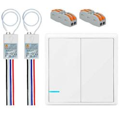 Wireless Light Switch and Receiver Kit Remote Control Ceilin