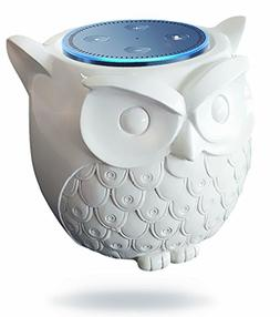 BFF For Alexa- Owl Statue Crafted Guard Station For Amazon E