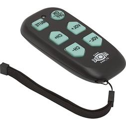 Universal Big Button TV Remote - EasyMote DT-R08B Backlit, E