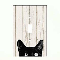 Black Cat Light Switch Plate Wall Cover Pet Decor Switch cov