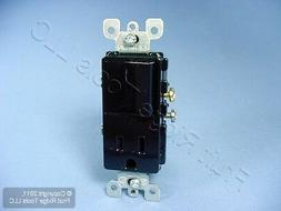 Leviton Black Decora Rocker Light Switch Receptacle Power Ou