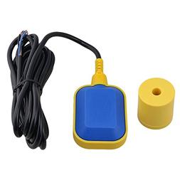BQLZR Black & Yellow Plastic 0-220V 400cm/13.12ft Cable Wate