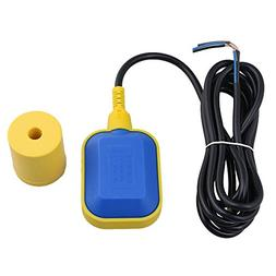 BQLZR Black & Yellow Plastic 0-220V 300CM 9.84ft Cable Water