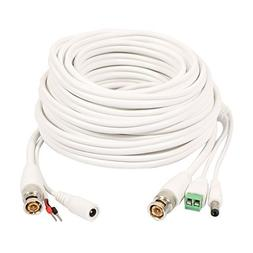 DealMux 10M BNC DC Video Power RS485 Control Cable Wire for