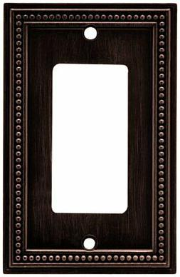 Brainerd Beaded Single Decorator Wall Plate