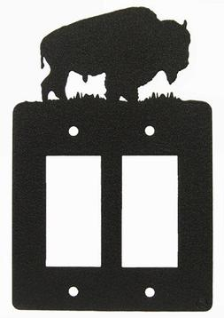 Buffalo Double GFI Rocker Light Switch Plate Cover