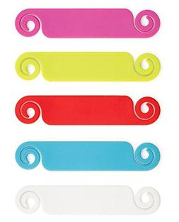 Bobino Cable Tag - 10 Piece Pack - Assorted Colors - Stylish