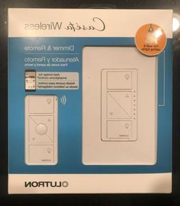 Lutron Caseta Wireless Smart Wall Light Dimmer Switch + Remo