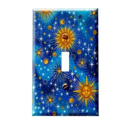 Celestial Starburst Home Decor Light Switch Plates