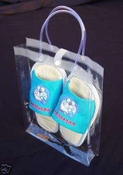 """10 pieces 9.5X2.5x12.5"""" clear PVC soft pouch bag with round"""