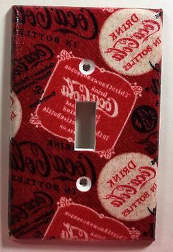 Coke Coca Cola Single Light Switch Plate Cover Bathroom Kitc