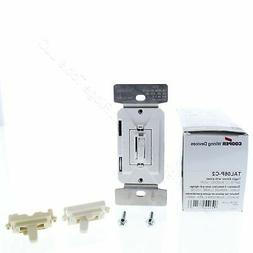 Eaton Controls TAL06P-C2 Toggle Dimmer 120V with Color Chang