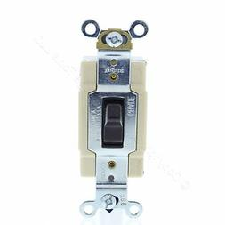 Cooper Brown Commercial Toggle Wall Light Switch 4-Way 15A 1