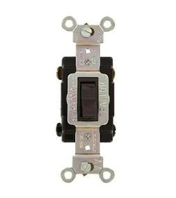 Leviton CSB4-15 15 Amp 4-Way Toggle Switch Commercial - Brow