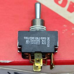 CARLING DC Motor Control Reversing Toggle Switch, DPDT Tabs
