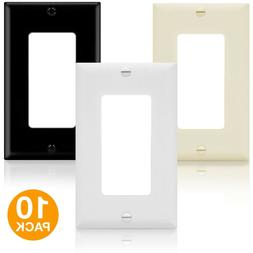 ENERLITES Decorator Light Switch Wall Plate Receptacle Outle