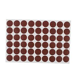 uxcell Desk Table Self-adhesive Screw Hole Covers Stickers 5