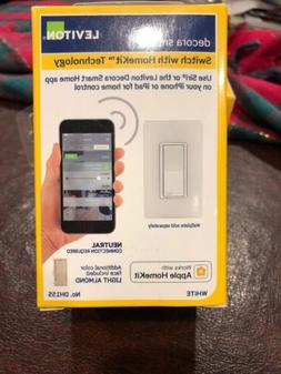 Leviton DH15S-1BZ 15A Decora Smart Switch, Works with Apple