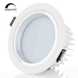 12W 4-Inch Dimmable LED Retrofit Recessed Light 90W Halogen