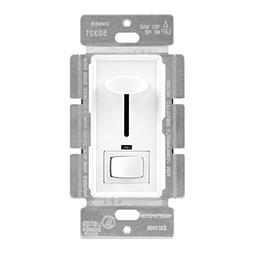 Enerlites 50321-W 3-Way Dimmer Switch for Dimmable Incandesc
