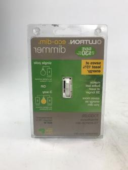 Lutron Dimmer Toggler Eco-Dim Light Switch TG-603PGH-WH -- N