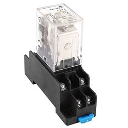 Uxcell a14071800ux0297 35mm DIN Rail DPDT 8P General Purpose