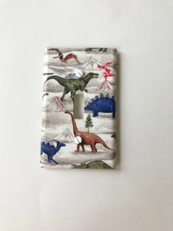 Dinosaurs Light Switch Plate Cover Dinosaurs Nursery Wall De