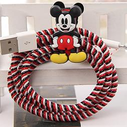 Tospania DIY Spiral Wire Protector for Apple Lightning Cable