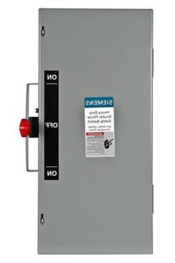 Siemens DTNF322 60-Amp 3 Pole 240-volt 3 Wire Non-Fused Doub