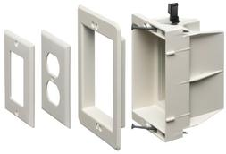Arlington DVFR1W-1 Recessed Electrical/Outlet Mounting Box,