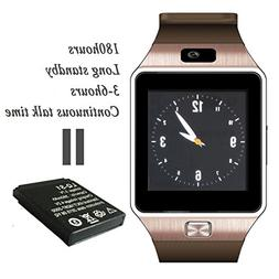 A8 POWER DZ09 Gear S Bluetooth Smart Watch WristWatch Sim In