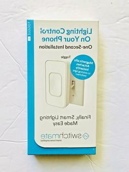 Switchmate TSM001W Smart Phone Lighting Control Toggle Switc