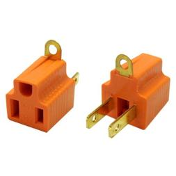 eDragon 3 Prong to 2 Prong Grounding Converter for AC Outlet